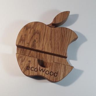 Подставка для мобильного телефона. Подставка под айфон . Подставка для мобильного телефона из дерева