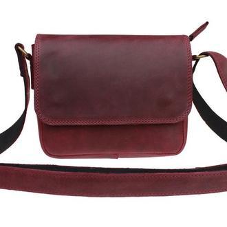 Кожаная женская сумка с гравировкой, 8 цветов, бесплатная гравировка! S серия