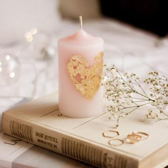Свічка з пальмового воску та харчового парафіну, свеча
