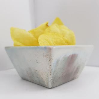 Бетонная пиала для чипсов