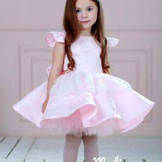 Пишна сукня з глітером