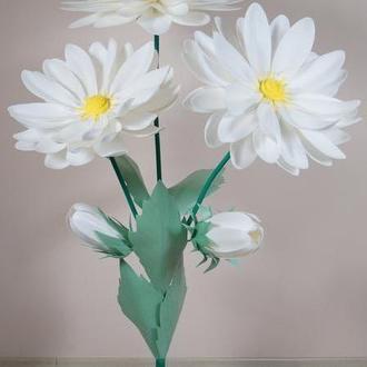 Ромашки с изолона (ростовые цветы)