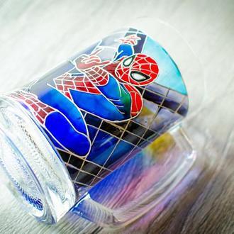 Пивной бокал ′Человек паук′
