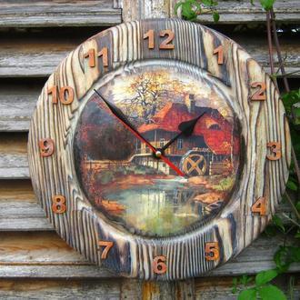 """Настенные часы """"Хранитель детских воспоминаний"""""""