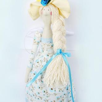 Кукла в стиле тильда Садовый Ангел