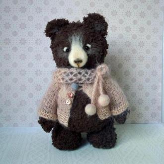 Мишка Тедди коричневый