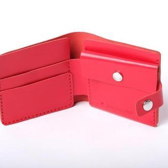 Гаманець з кишенею для монет «Gazda Red»