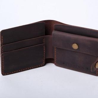 Гаманець з кишенею для монет «Gazda Brown»