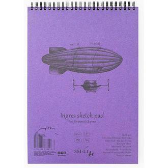 Альбом для графики Smiltainis Authentic Ingres A4 (21х29.7см) 130 г/м2 30 листов (4770644588634)