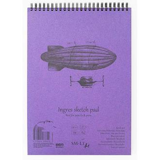 Альбом для графики Smiltainis Authentic Ingres А5 (14.8х21см) 130 г/м2 25 листов (4770644588627)