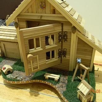 ключницы, светильники( ночники), часы, домики для животных ...