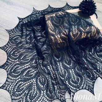Ажурная косынка платок в церковь