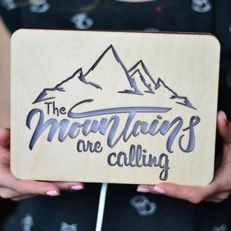 Светильник для любителей гор