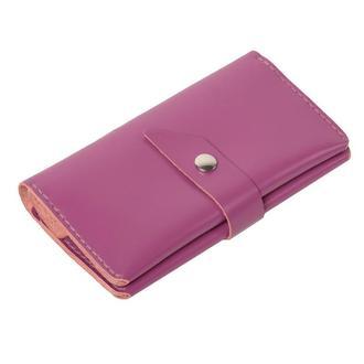 Шкіряне портмоне «Promin Lilac»