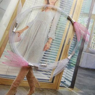 """Колье """"Breath""""(в розовом цвете)  Lana Jewelry"""