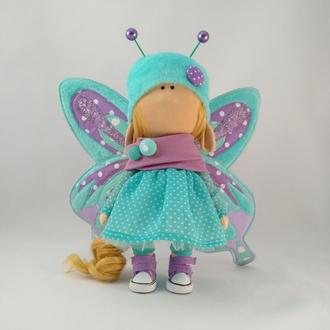 Интерьерная кукла Бабочка большая