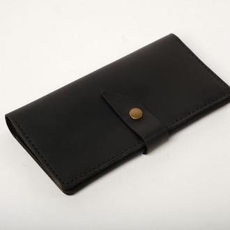 Шкіряне портмоне «Promo Black»