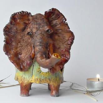 Аромалампа слон Этно-подарок