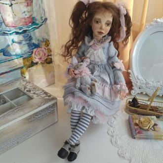 Анюта - интерьерная кукла