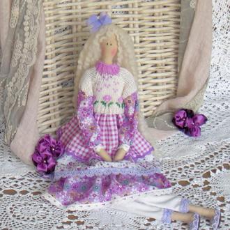 Кукла в стиле Тильда  Джоанна 48см ВНИМАНИЕ БОНУС !!!