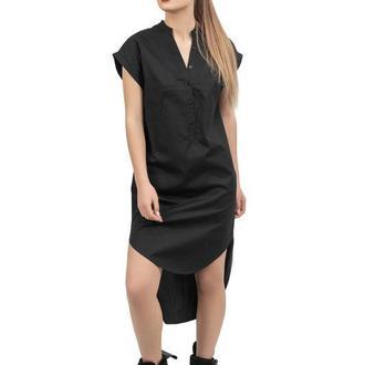 Черное платье-туника