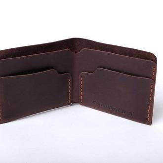 Шкіряний гаманець «Gomin Brown»