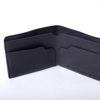 Шкіряний гаманець «Gomin Blue»