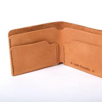 Шкіряний гаманець «Gomin Foxy»