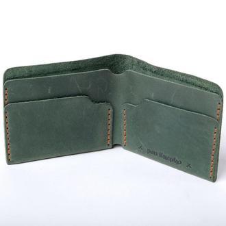 Шкіряний гаманець «Gomin Green»