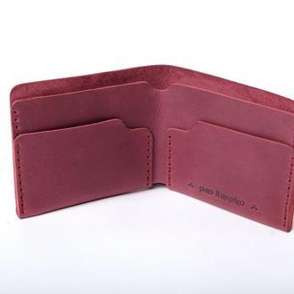 Шкіряний гаманець  «Gomin Marsala»