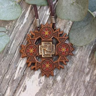 Дерев'яний дукач, натільний хрестик