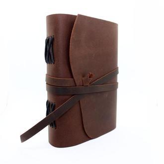 Блокнот COMFY STRAP оригинальный кожаный подарок для заметок и рисования