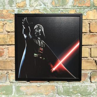"Постер на ПВХ 3 мм. в рамке ""Дарт Вейдер"" (Darth Vader)"