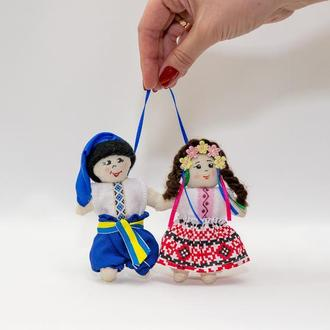 Куклы Vikamade  брелки мини пара , Украина.