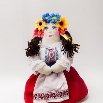 Мягкая Кукла Vikamade Украина, цельная выкройка ( мальчик, девочка) 25-30 см.