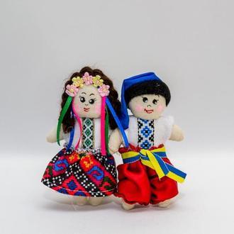 """Текстильный магнит Vikamade пара """"Украина"""""""