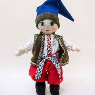 Мягкая кукла Vikamade Украинка тип шарнирная мальчик