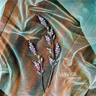 Гілочки в зачіску, свадебные украшения