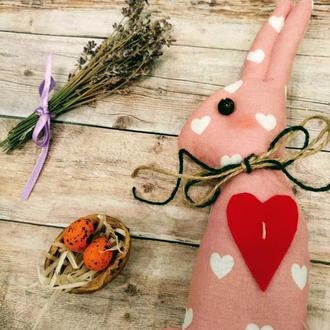 Великодні зайці Іграшка з тканини Подарунок на Великдень Сувенір