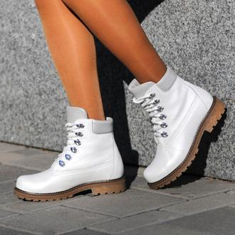 Ботинки женские Aura Shoes 7475410 перламутр