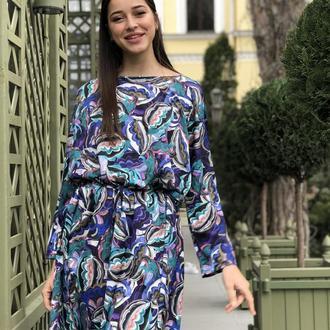 """Платье туника """"Абстрактный узор"""""""