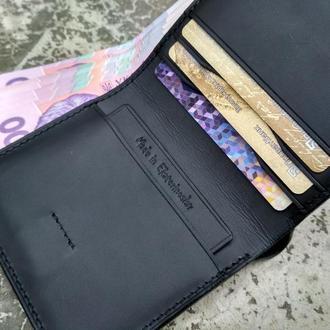 Портмоне кошелёк мужской кожаный