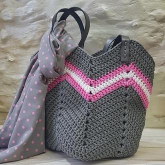 Пляжная сумка. Сумка - шоппер.