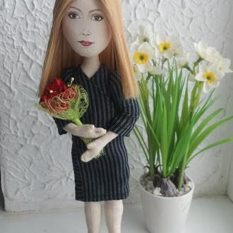 Кукла с легким портретным сходством
