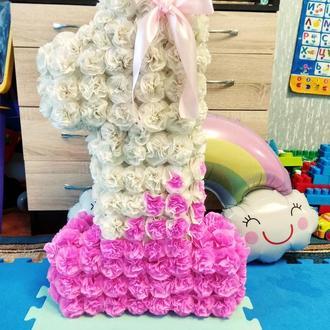 Цифра 1 один 80 см для малышки на годик, день рождения, может быть в любом цвете и размере