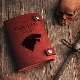 "Блокнот А6 ""Winter is Coming"" ""House Stark"" ""Игра престолов"""