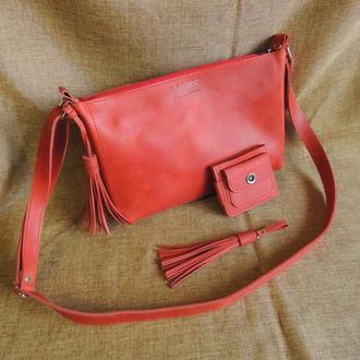 сумка женская + кошелек