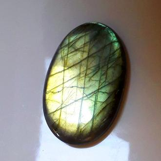 Лабрадорит (рысий глаз, спектролит), камень в коллекцию, самоцвет
