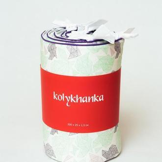 """Бампер в кроватку """"Звездная пыль"""" от KOLYKHANKA"""