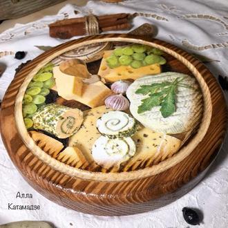 Разделочная доска «Любимый сыр»